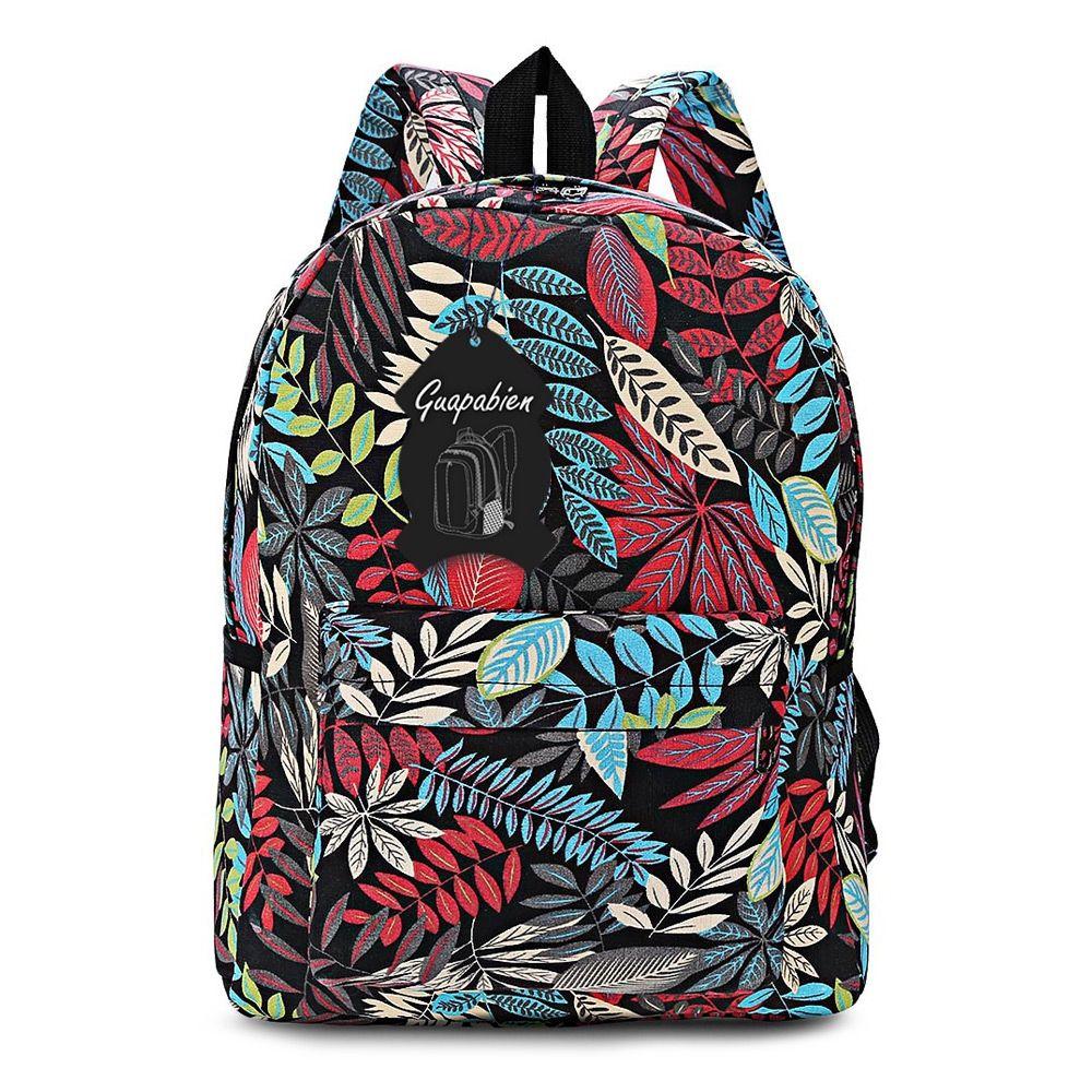 ... Backpack for Teenage Girls School Backpack Zipper Bag Plant Pattern  Printing Guapabien Bag School Backpack Shoulder Bags Online with  32.34  Piece on ... 897a05d9cb