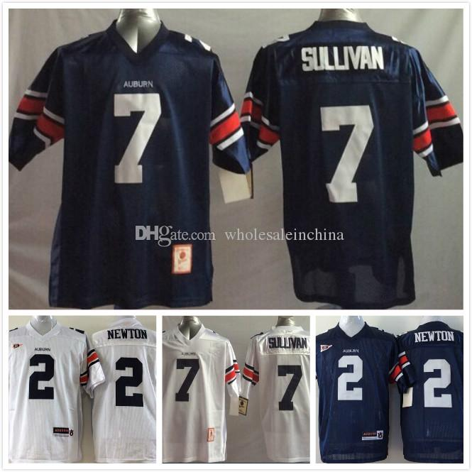 online retailer ea46a 75ea6 Men Auburn Tigers College Football Jerseys High quality NCAA 2 Cam Newton 7  Pat Sullivan 14 Nick Marshall 21 Tre Mason blue white