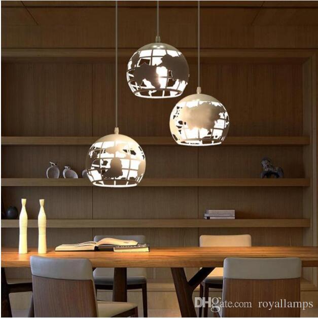 Grosshandel Svitz Bar Esszimmer Led Metall Sphere Pendelleuchten Fur