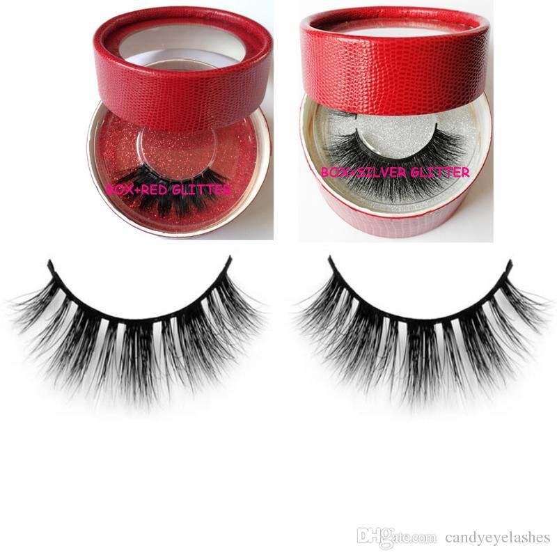 Private Logo False Eyelashes False Lash Mink Eyelashes 3d Mink Hair