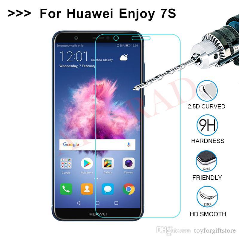 Huawei P Smart Dual SIM Gehärtetem Glas Displayschutzfolie für Huawei 7S 7plus FIG-LX1 Gehärtetem Schutzfolie