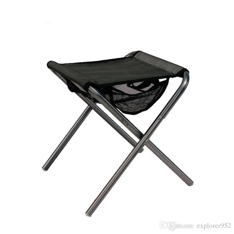 Acheter Chaise Pliante En Plein Air Mini Tabouret De Pche Camping Randonne Pique Nique Barbecues Voyager Loisirs Oxford Tissu Facile Porter