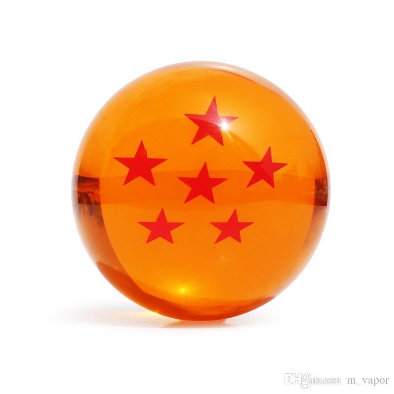 Dragon ball Z star crystal ball Big Size DIN:3.0 Inch7.5CM In Box Can Choose