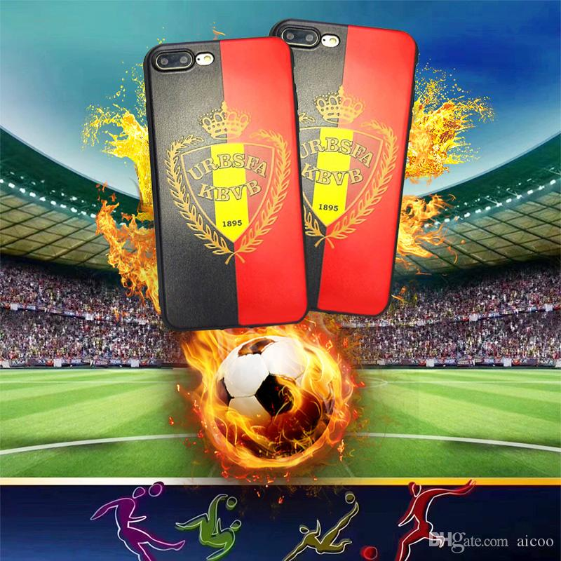 official photos 1f64e 3f8f0 Football team Case TPU Cover for iPhone X 8 7 6 Plus OPP Aicoo