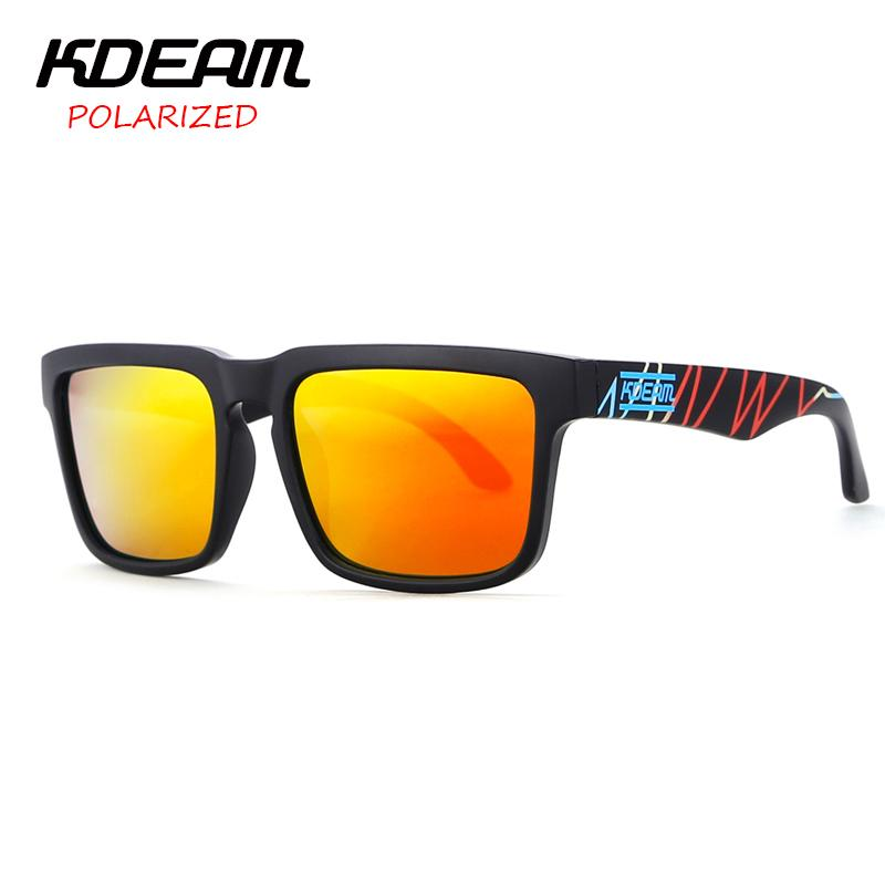 b36130d653d KDEAM Heart Beat Design Super New Sunglasses Square Men Sun Glasses Women  Red HD Lens Polarized UV400 With Hard Case KD901P C23 D18102305 Sunglasses  Sale ...