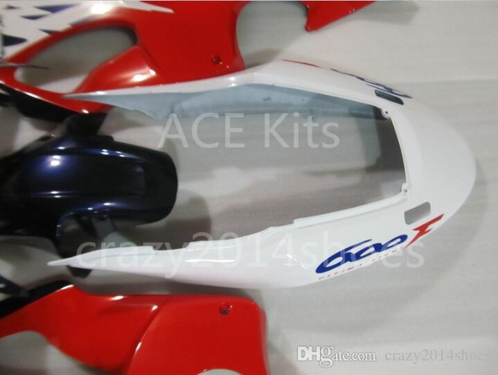 3 free gifts New Injection mold Fairing kit for HONDA CBR600F4 99 00 CBR600 F4 1999 2000 CBR 600 ABS Red Blue White A3