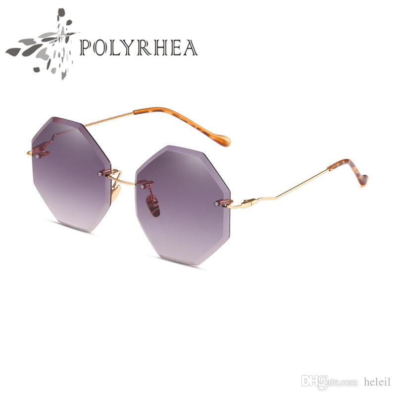 1f7a987ebb3 Top Quality Polygon Sunglasses Ladies Vintage Small Round Sun Glasses Metal  Frame Hollow Octagon Women Sunglasses With Box Cases Sunglasses Case  Knockaround ...