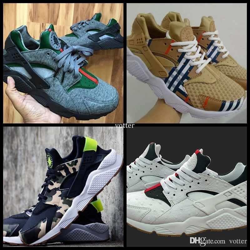 best service 66b71 d9549 2017 Cheap Air Huarache Running Shoes For Women & Men,High Quality Mens  Huaraches Famous Brand Custom Designer Sport Sneakers Size 36-45