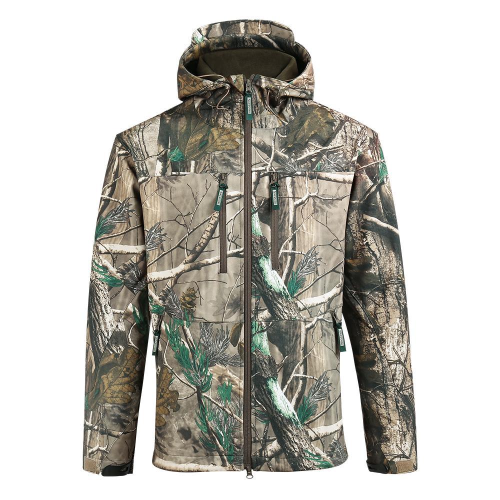 Acquista 2019 NUOVO SAENSHING Giacca Da Caccia Impermeabile Uomo Softshell  Camouflage Giacche Tattiche Maschio Fleece Soft Shell Outdoor Camo Cappotto  Da ... 1cbd249d7ab