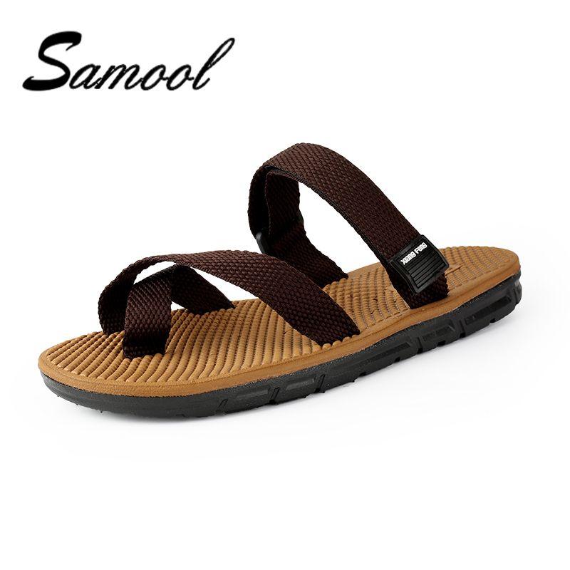 61701fa17881 Samool Men New Style Summer Elastic Band Super Comfort Sandals Indoor Men  Alippers Open Toed Top Quality Mans Footwear Shoe MX5 Birkenstock Sandals  Shoes ...