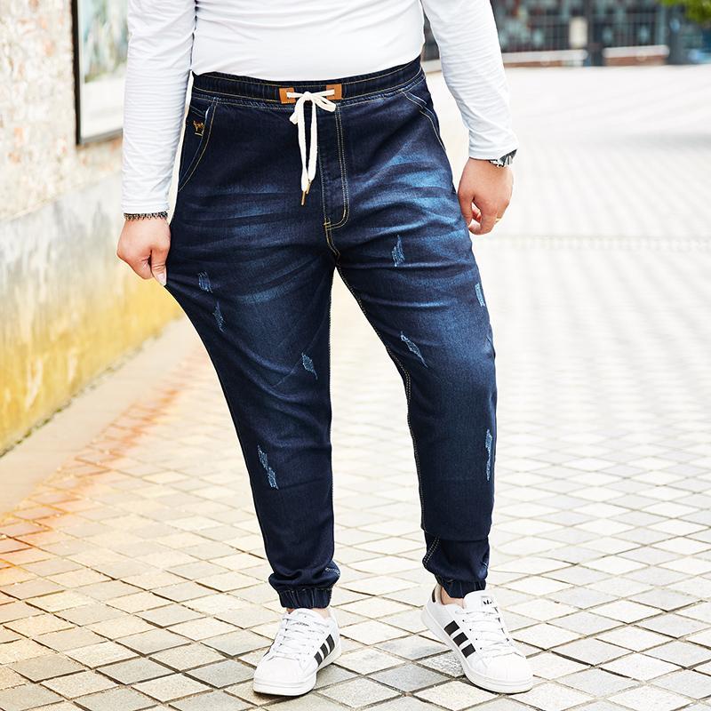 Acquista 2018 New Jeans Retro Nostalgia Straight Denim Jeans Uomo Taglie  Forti M 6xl 7xl 8xl Uomo Pantaloni Lunghi In Denim Pantaloni Brand Biker A   96.48 ... 96918feae0f