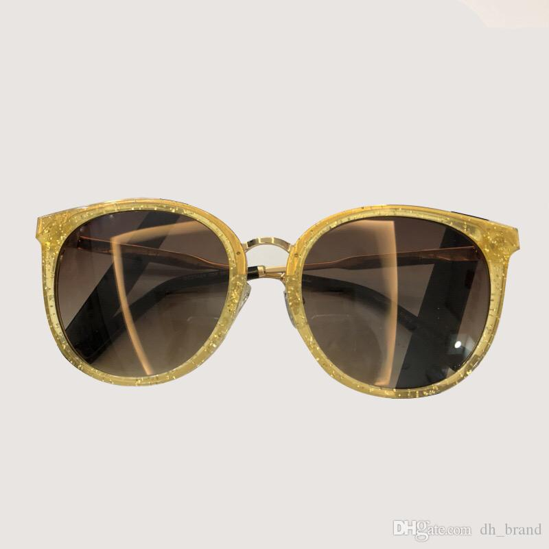 Square Acetate Frame Sunglasses 2019 New Sunglasses Gradient Lens Fashion Sunglasses With Box