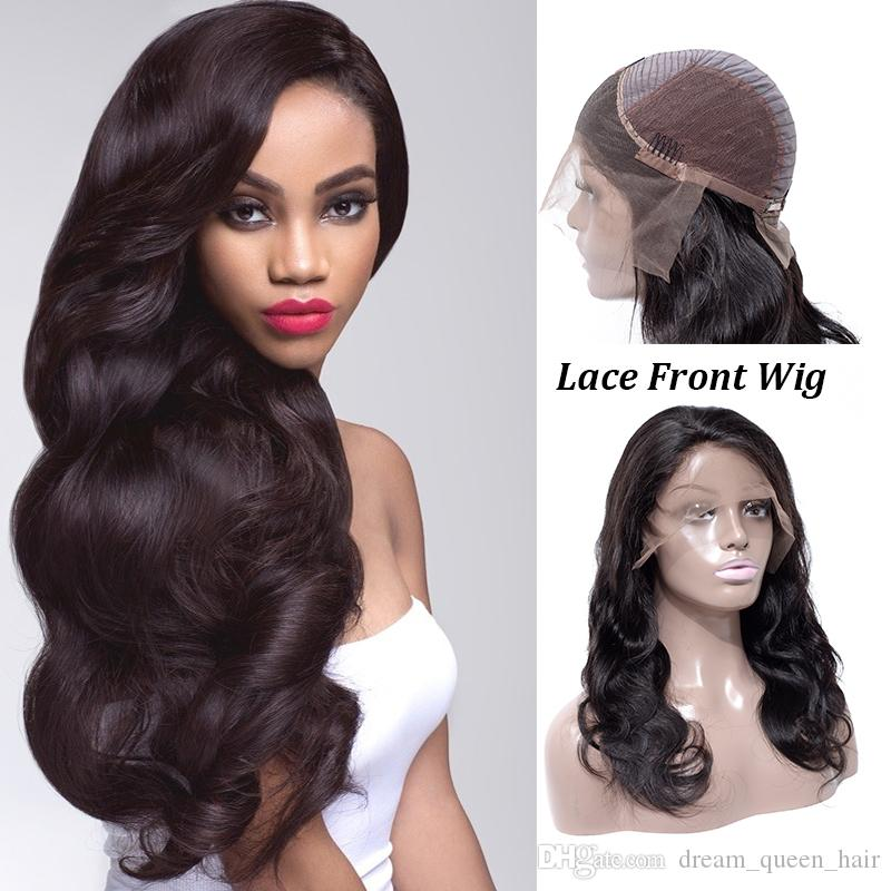 Brazilian Mink Lace Front Wigs Body Wave Lace Frontal Human Hair Wigs For  Black Women Swiss Lace Frontal Wig Wholesale Remy Human Hair Wig Full Lace  Human ... 17a1ee0d6