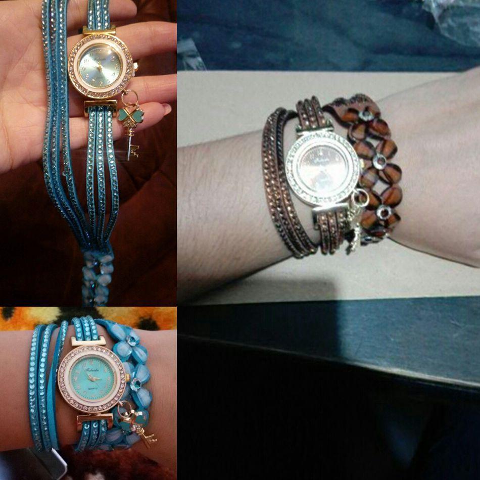 2fd493f80d8 Compre Marca De Luxo Das Mulheres Pulseira Relógios De Diamante Brilhante  Pulseira De Couro Senhora Da Mulher Relógio De Pulso Relógio Mulheres  Relogios ...