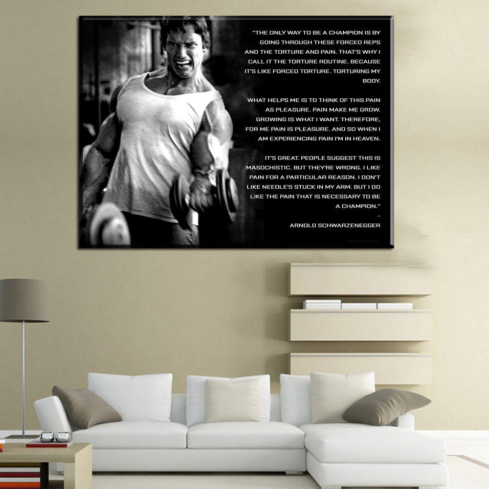 2018 Arnold Schwarzenegger Movie Wall Canvas Posters Big Prints Boy ...