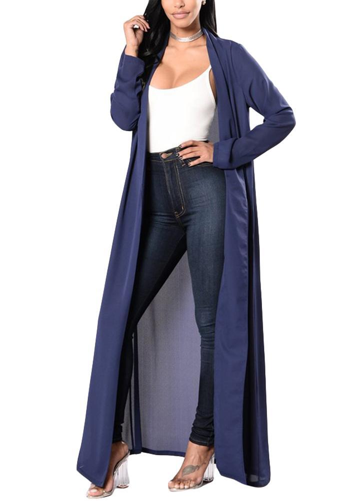 1065ca219cd Summer Sexy Shirt Women Chiffon Kimono Maxi Cover Up Front Open Long ...