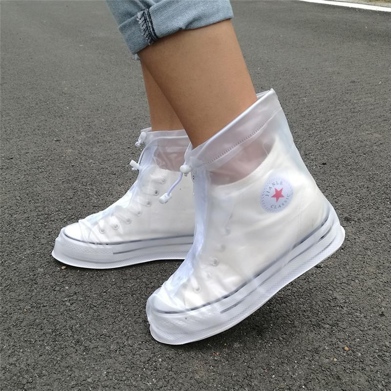 f60e2f39713 Compre Espessamento Reutilizável Impermeável Overshoes Sapato Cobre Sapato  Protetor Anti Slip Rain Boot MenMeninosCrianças Sapatos Acessórios De  Hanlley