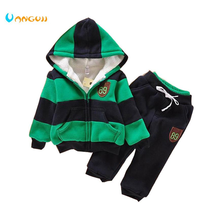 8effbbf9cbb0 2019 Boys Girls Children Hoodies Winter Velvet Sherpa Baby Sports ...