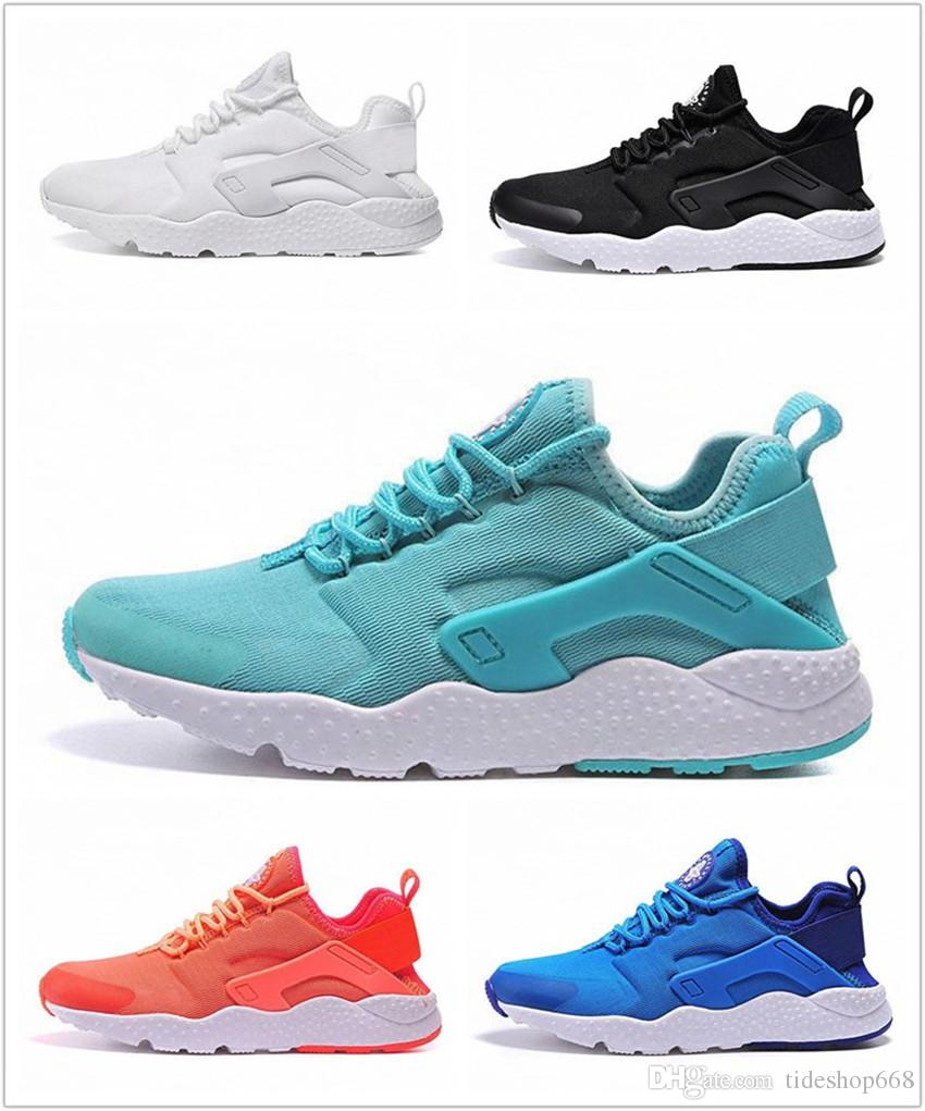 4f5cc0d616a0 2018 Original Air Huarache 3 III Big Kids Sneakers Men S And Women S  Leather Casual Shoes High Quality Huaraches Sneaker Size 36 45 Sports Shoes  Womens ...