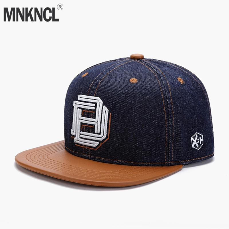 d613d8c7d Original Denim Cool Hip Hop Cap Men Women Hats Vintage Embroidery Character  Baseball Caps Gorras Planas Bone Snapback Caps