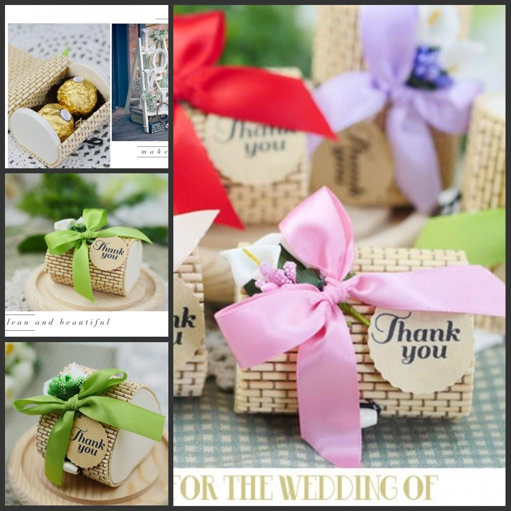 Bomboniere Bamboo Wedding Favors Boxes Gifts Candy Boxes Favor ...
