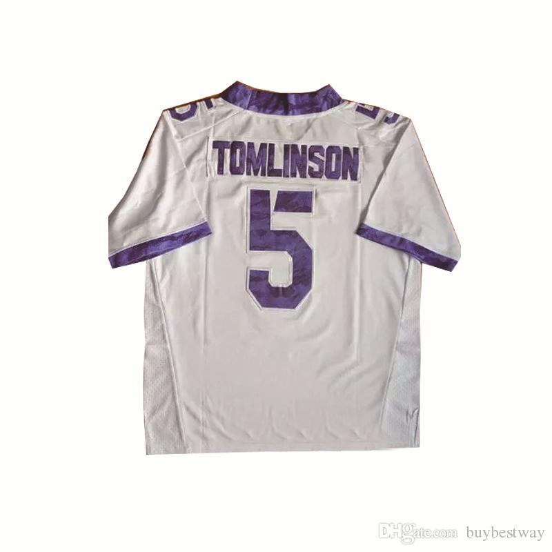 newest 83c82 f9da6 5 LaDainian Tomlinson TCU Horned Frogs Mens Football Jerseys American  College For Sport Jersey Size S-XXXL QF022
