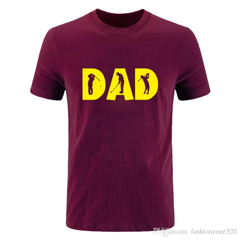 Summer Men T Shirt Casual Cotton T-Shirt Men Short Sleeve O-Neck Tees DAD Letter Printed Male Camisa Masculinas DIY-0288D