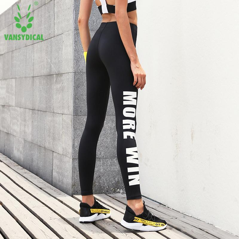 328530883a8a3 Women's Letters Running Tights Skinny Yoga Leggings Breathable Fitness Gym  Pants Female Workout Sports Leggings. Store-wide Discount