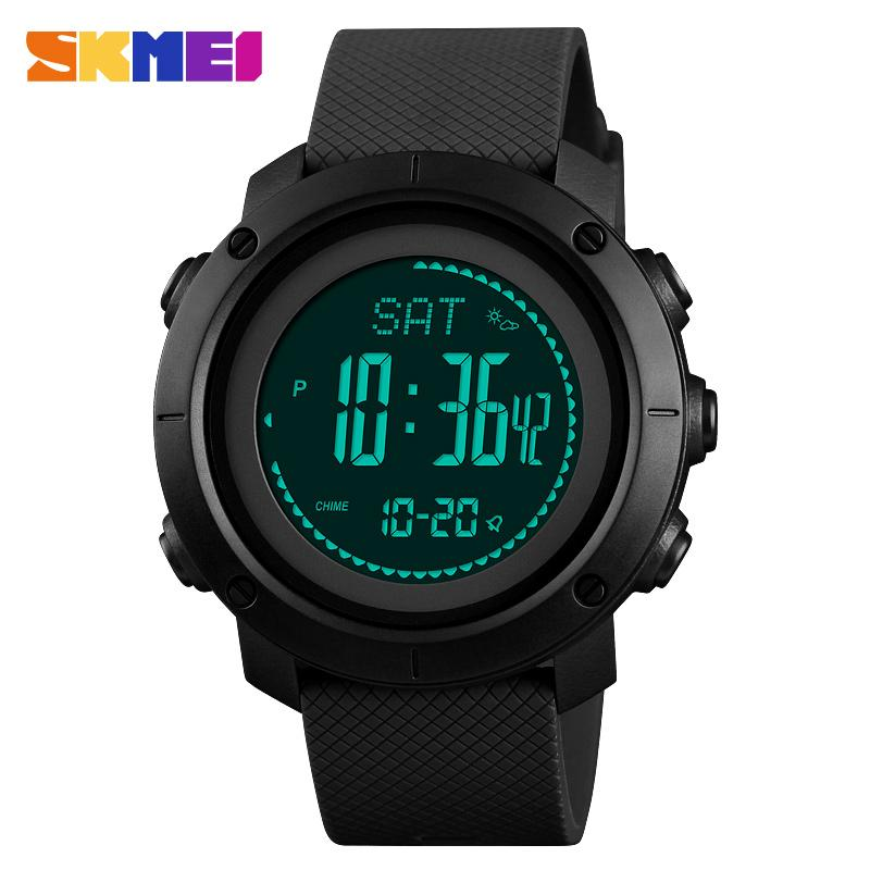 Digital Watches Watches Mens Sports Watches Women Pedometer Calories Digital Watch Men Altimeter Barometer Compass Thermometer Weather Reloj Hombre 2019