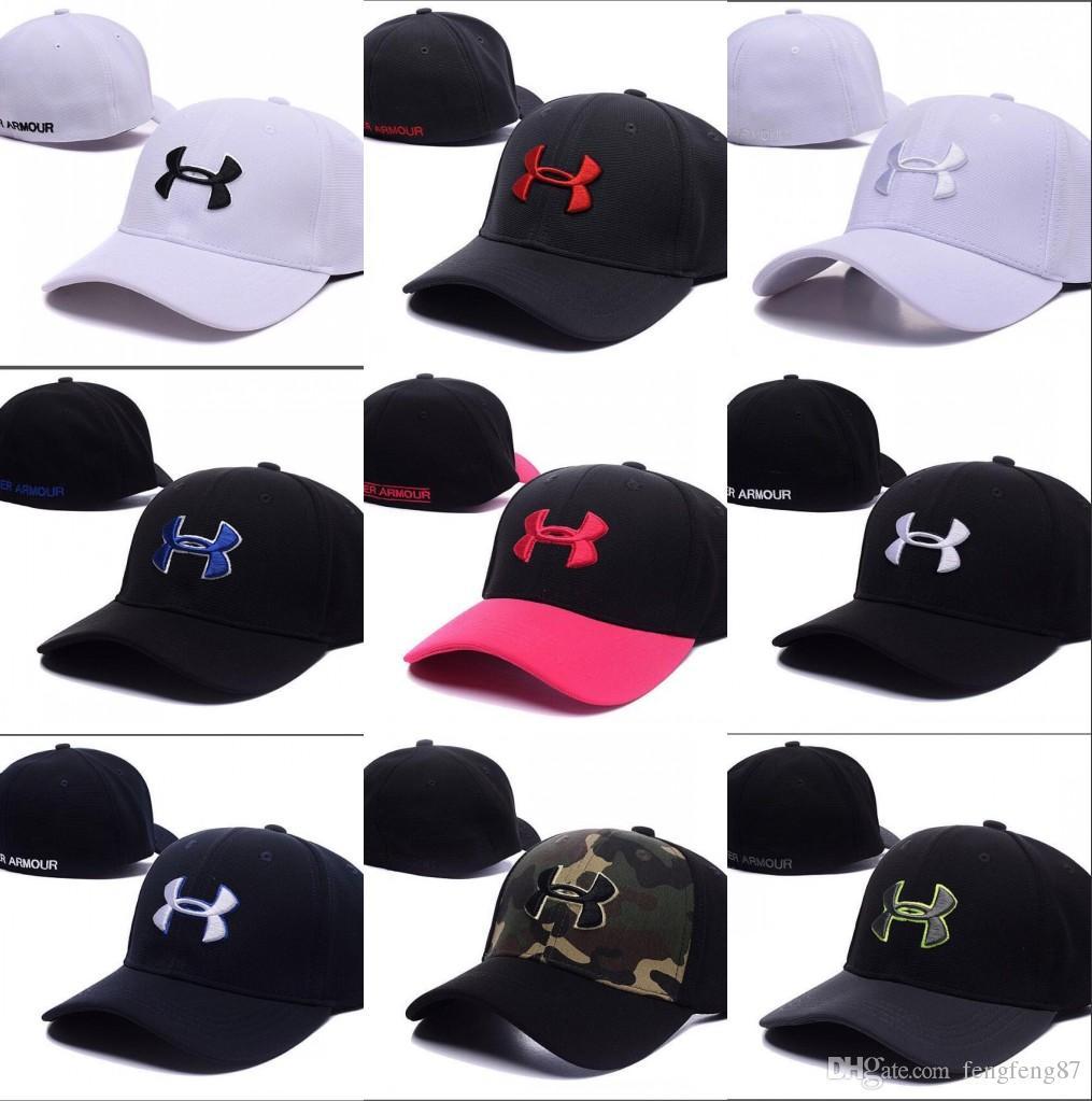 Good Fashion Brand UA Snapback Caps Casquette Adjustable Hats Football Men  Women Hip Hop Fitted Basketball Baseball Hat Street Dancing Bone UA Cap  Snapback ... e9ea325da968