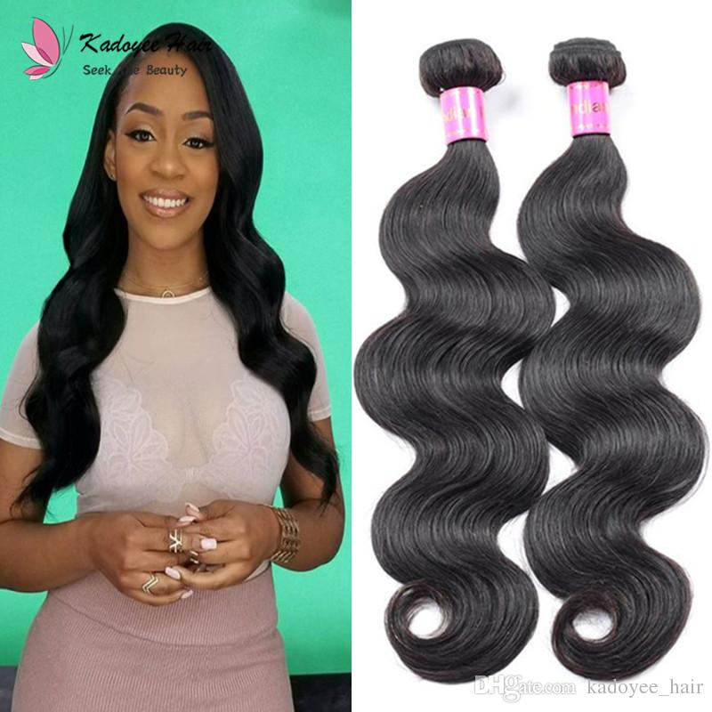 Sew In Hair Indian Unprocessed Human Hair Extension Body Wave Virgin