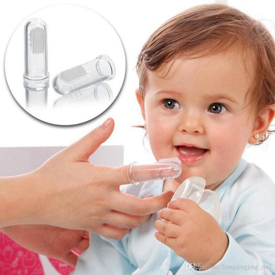 سوبر لينة سيليكون إصبع فرشاة الأسنان تيدي الكلب فرشاة الأسنان رعاية الطفل فرشاة الأسنان مستلزمات التنظيف OOA4783