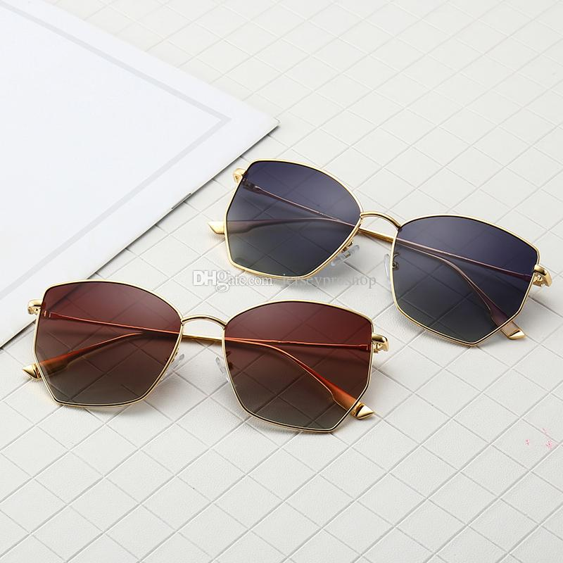 3d9659953a 0102 Polarized Sunglasses Luxury Women Brand Designer Summer Style Full  Frame Top Quality UV Protection Mixed Color Come With Box 0102 Sun Glasses  Sun ...