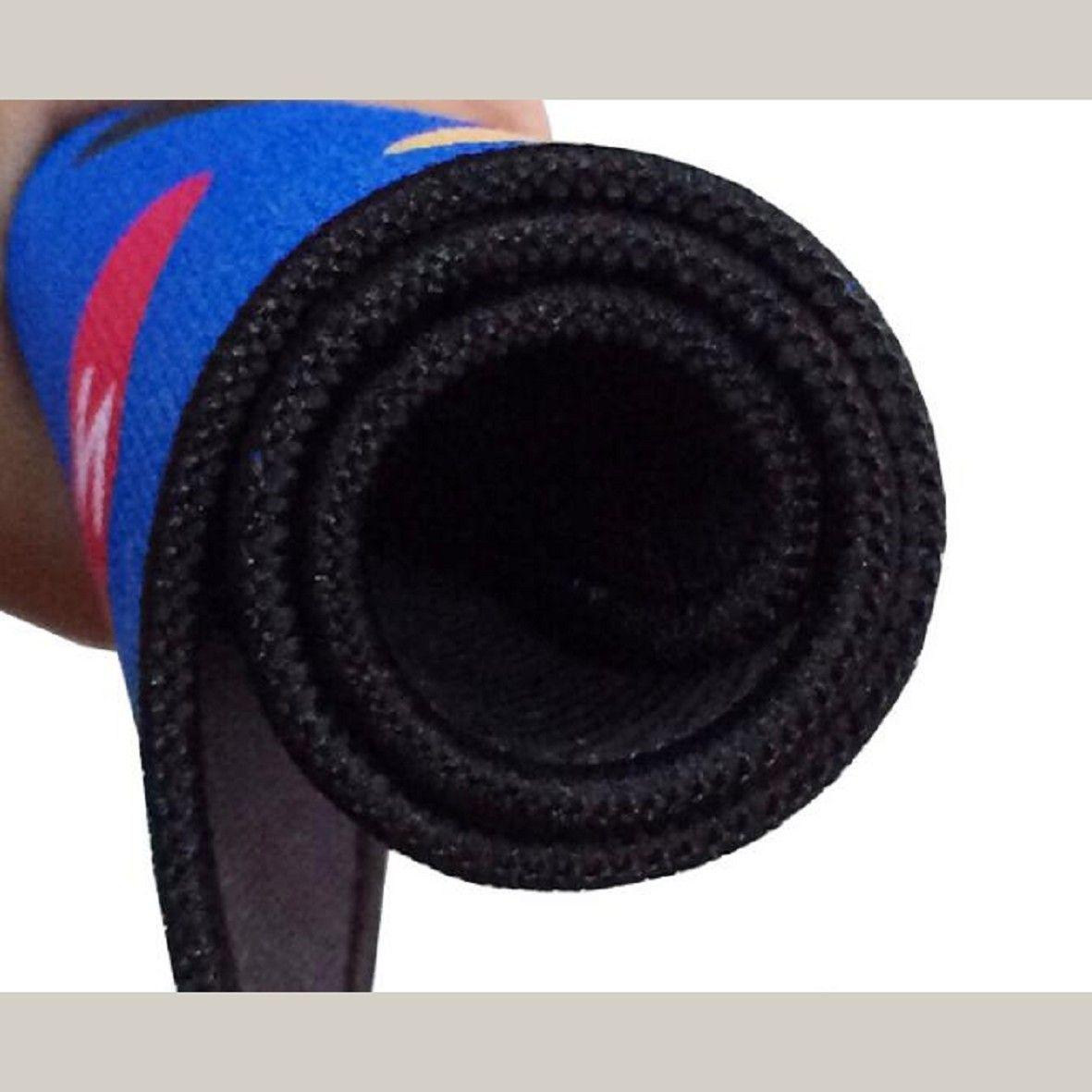 250mmX300mmX4mm verdickte mouse pad rutschfeste gummiboden Tuch oberfläche material präzision nähen kostenloser versand