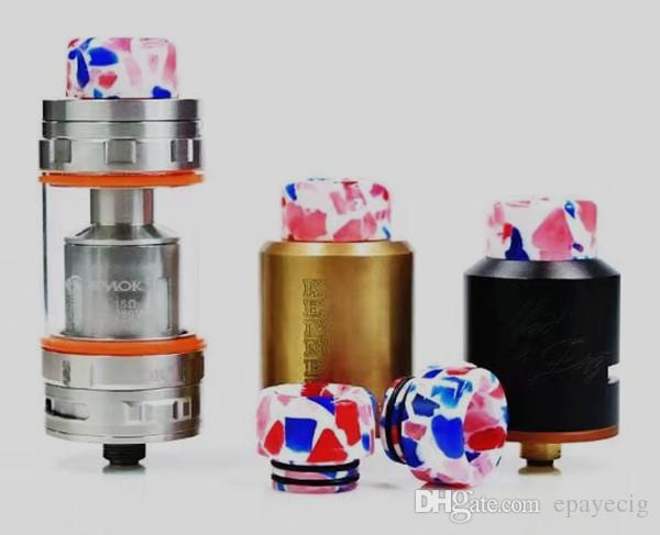 latest hot selling 810 drip tip resin vape mouthpiece tip for e cigarette smok tank tfv12 tfv8 cheap items china dhgate