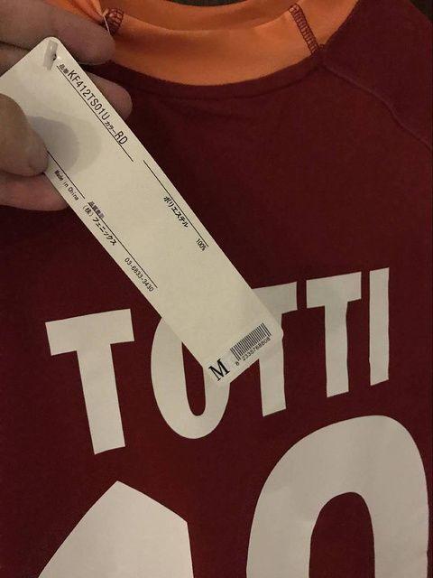 Compre Retro 00 ~ 01 Jersey Roma Batistuta Totti Camisa Qualquer Nome Camisa  De Manga Curta De Hao332530 2b2f6b2bee41b