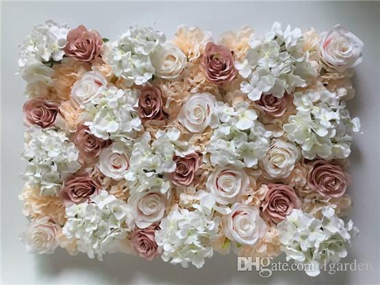 Acheter Nouveau Mur De Fleur Rose Dahlia Fantasy Pour Les Accessoires De Scene T Et Decoration Murale Arcs De Fleurs De Fond De Mariage De 147 74 Du