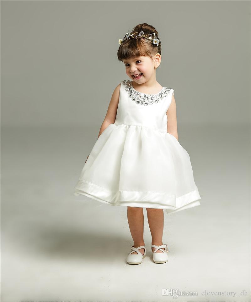 23fc2d0f05a17 Acheter 3 Mois À 24 Mois Bébé Filles Grandi Robe De Princesse Tutu Princesse