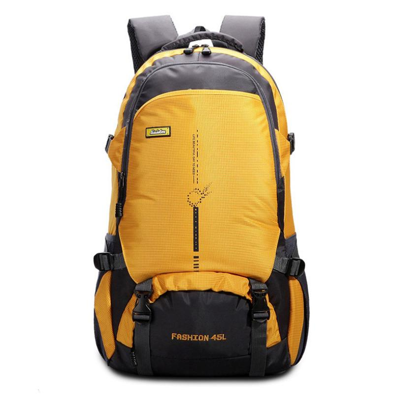 6f93513f6fa8 2018 New 45L Travel Backpack Camping Hiking Backpack Sports Outdoor  Trekking Bag Mountain Climbing Equipment Bag Wheeled Backpacks Leather  Backpacks From ...