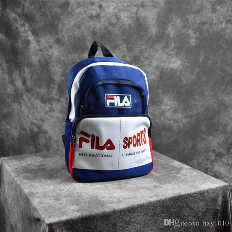 0d905dbdbe21 2018 New Filar Backpack 18ss School Bag Fashion Duffle Bags Men And ...