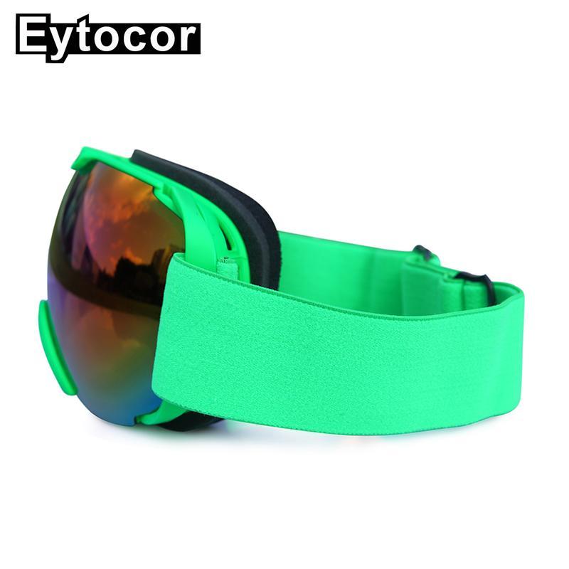 da5ee45a7d Compre Eytocor Top Sell Double Layers Máscaras De Lentes Para Snowboard  Hombres Y Mujeres Máscaras De Esquí De Invierno Protección Uv400 Esquí Gafas  De ...