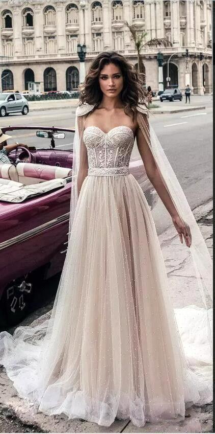 2018 Land Strand Perlen Plus Size Brautkleider Backless Schatzausschnitt Vestido De Novia Spitze vestido de novia Kleider