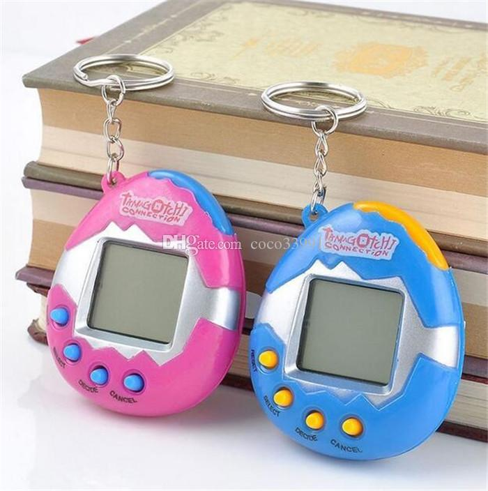Mascota electrónica Tamagochi Toys Vintage Virtual Pet Cyber ​​player juegos Tamagotchi Digital Pet Child Game
