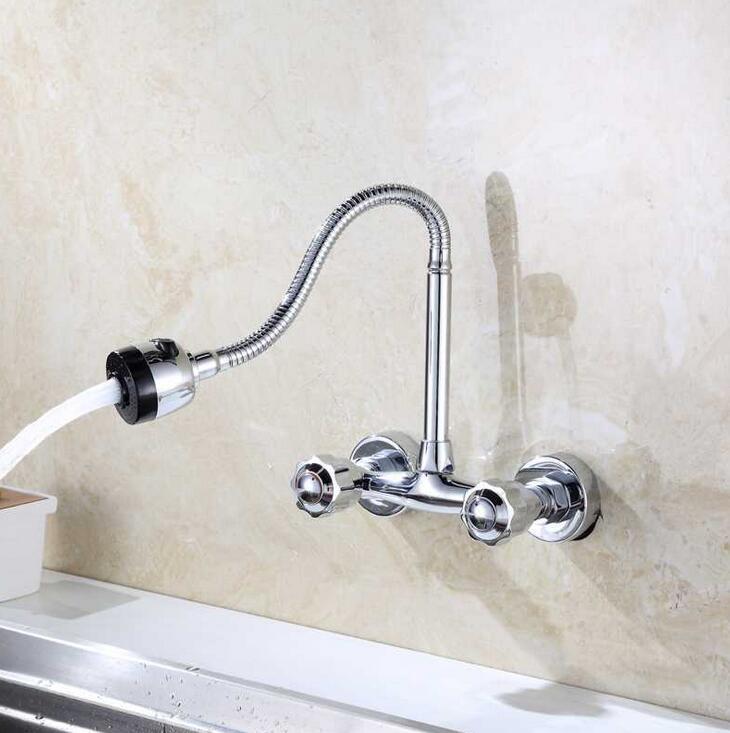 Grosshandel Universal Waschbecken Wasserhahn In Die Wand Heisses Und