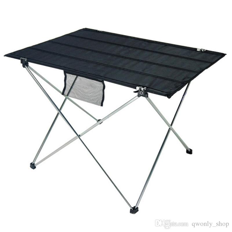 Other Bbq Tools Ultra-light Folding Aluminium Alloy Portable Folding Table For Camping Outdoor Activties Foldable Picnic Barbecue Desk Table