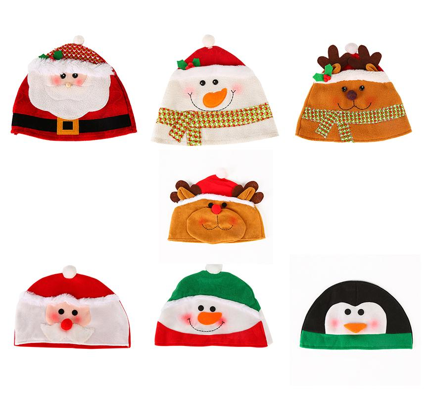 2018 Newest Christmas Hats for Adults Children Kids Christmas Theme ... a3dce2c6fe0