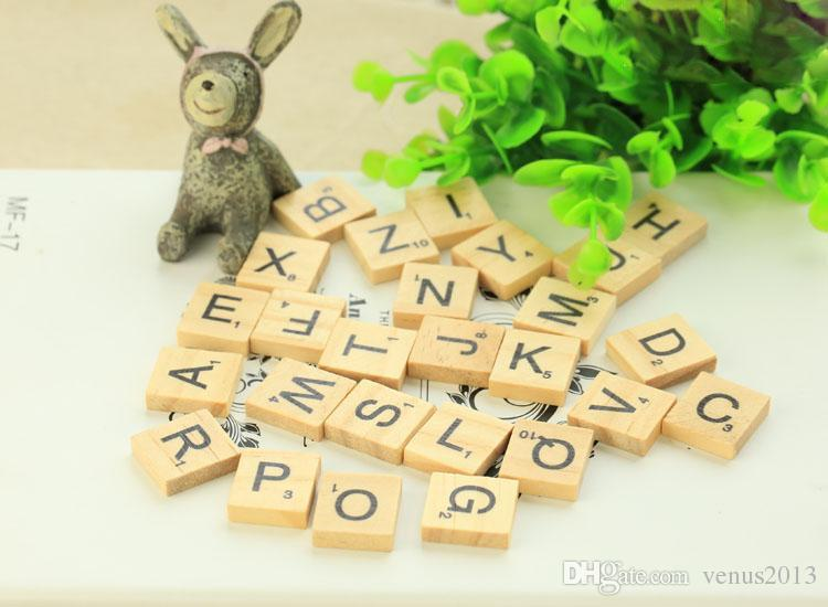 26 equipo de fotografía de madera de la decoración del alfabeto inglés de madera 2018 nuevos accesorios fotográficos de la fotografía CALIENTE al por mayor Envío libre