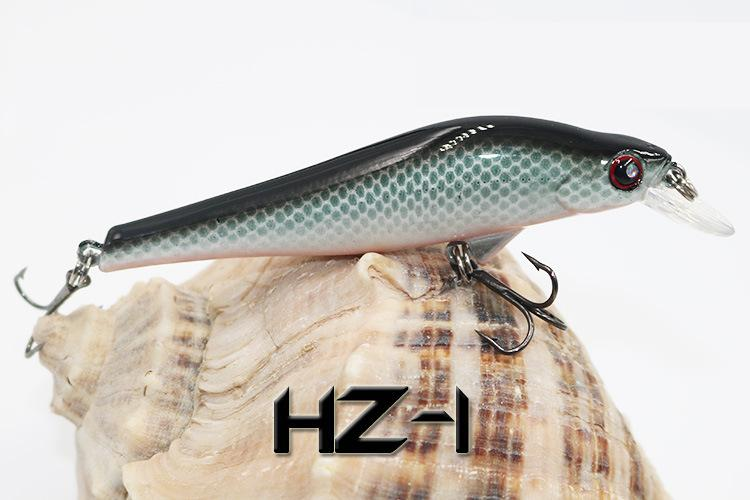 2018 Shallow Sinking Wobbler Artificial Bait Smooth surface Swimbait 9.5cm 11g Lip Shad fishing swing lures
