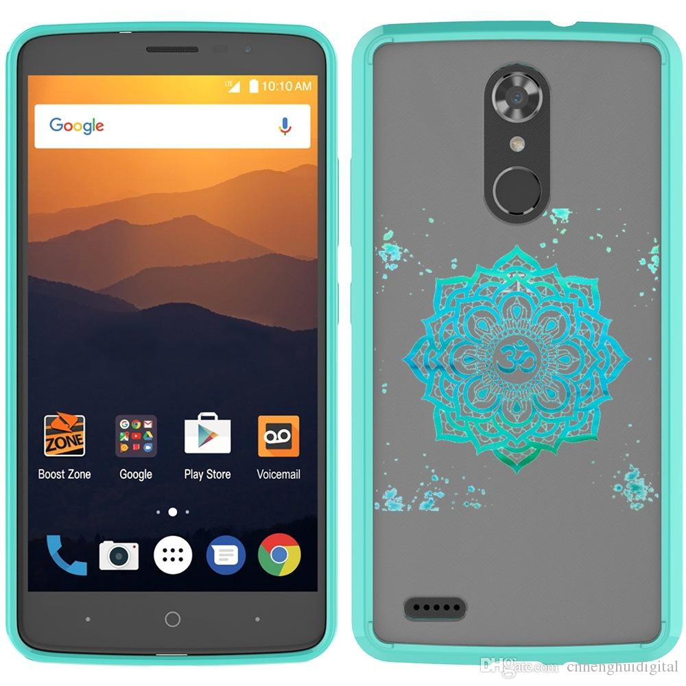 Capas telefônicos para LG K20 Plus Stylo6 Stylo7 Aristo6 Pintura Shell ZTE Avid 4 Metropcs Capa Volta com oppbags