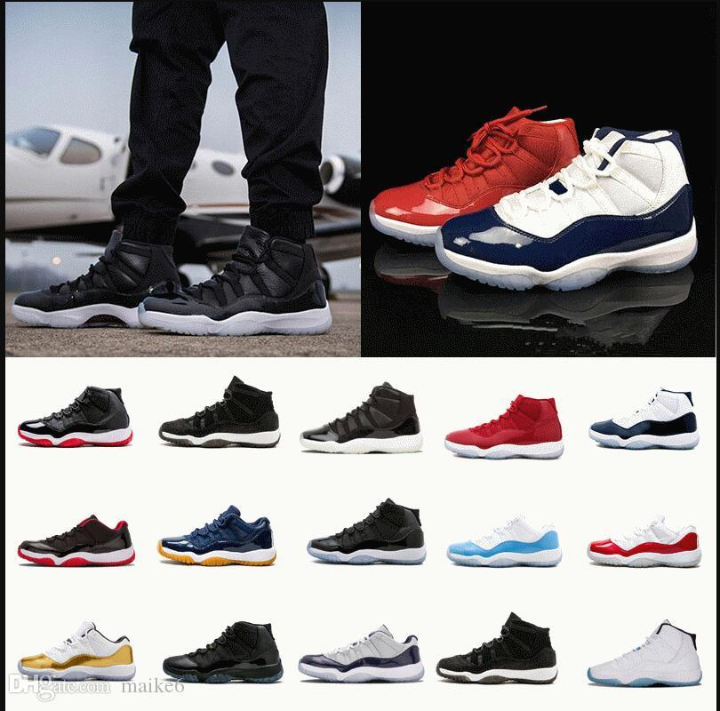 743e622312d8f7 2017 High Quality 11 11s Space Jam Bred Concord Basketball Shoes Men Women  11s Gym Red Midnight Navy Gamma Blue 72 10 Sneakers With Box Kids Basketball  ...